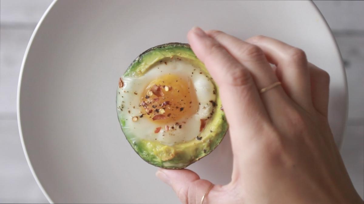 Video Recipe: Baked Avocado Eggs