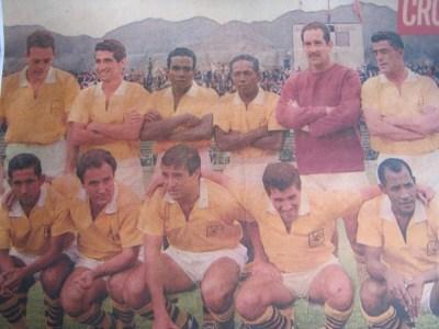 Una postal del Atlético Bucaramanga de aquellos años