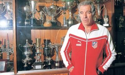 Aragonés estuvo 25 años en Atlético de Madrid entre sus etapas como jugador y entrenador.