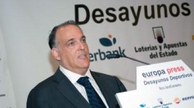 Javiér Tebas, Presidente de la LFP y consejero para la reestructuración