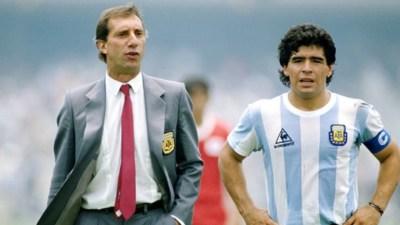 Maradona y Bilardo, centro de las críticas