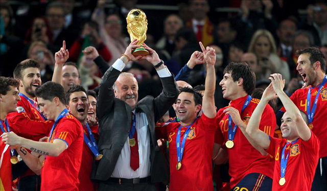 España Campeón del Mundo en Sudáfrica 2010