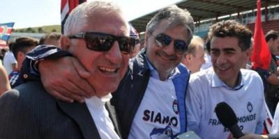 Beppe Ursino y Raffaele Vrenna, los cerebros del Crotone