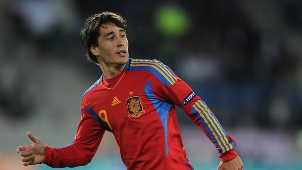 Bojan, en su etapa como jugador de la selección española.
