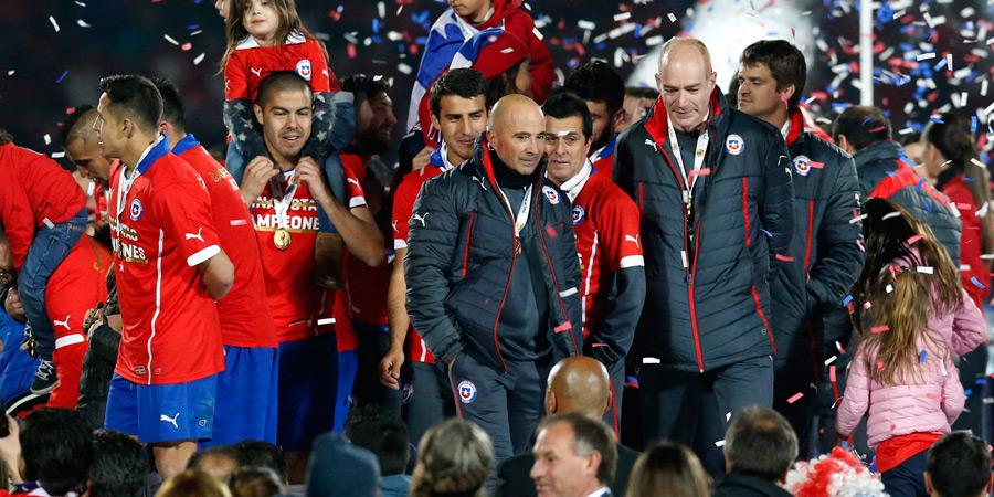 Campeón con Chile