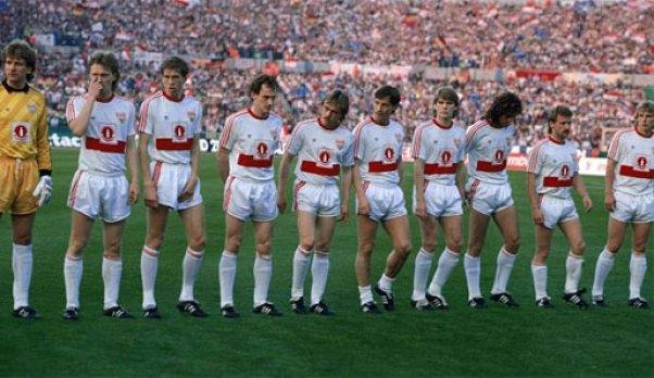 Stuttgart, equipo revelación en el año 1989.