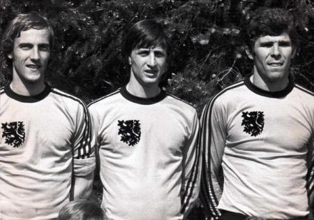 Neeskens, Cruyff y Van Hanegem. Talento puro al servicio de la Naranja