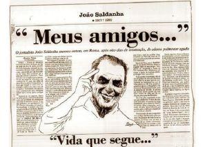 Los ecos informativos del fallecimiento de Saldanha en 1990