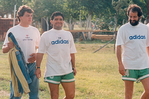 La época de Maradona como DT.