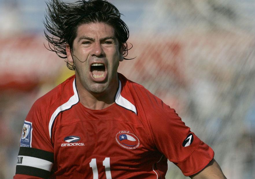Salas, uno de los grandes delanteros que dio Chile.