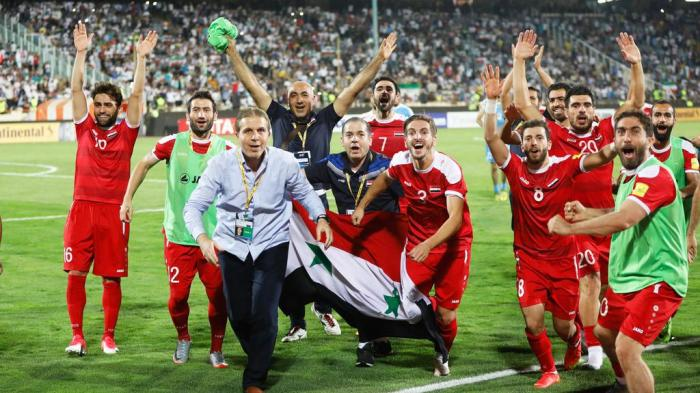 Siria va por la clasificación a su primer Mundial.