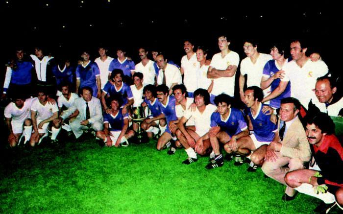 Todos campeones. Madrid y Castilla juntos en la victoria.