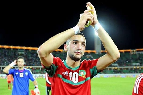 Ziyech eligió a Marruecos por sobre Holanda