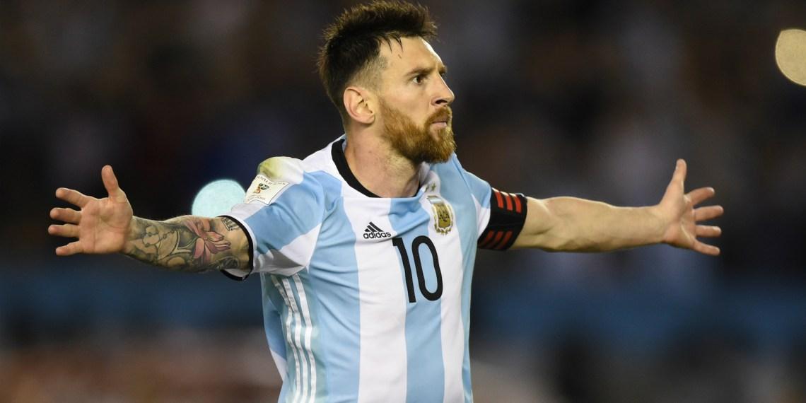 Messi, máximo anotador con la Albiceleste.