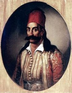 Georgios Karaiskakis, gran líder militar en la Revolución de Grecia.