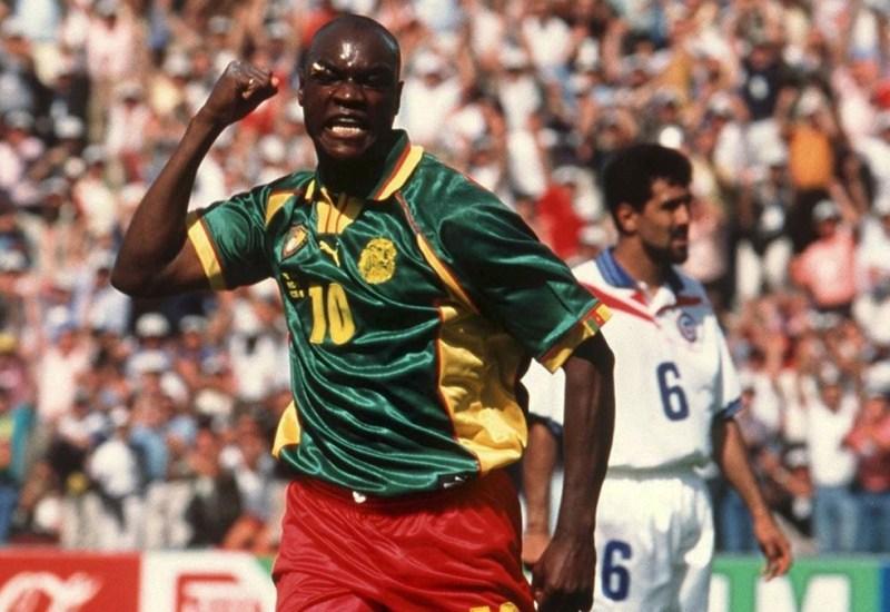 Jugadores noventosos: Patrick Mboma