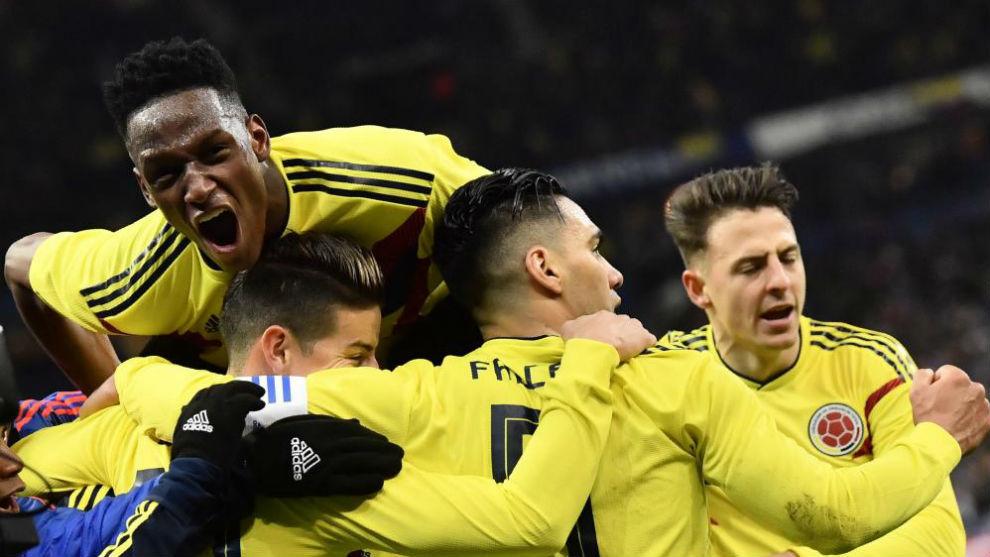 Francia vs Colombia 2-3