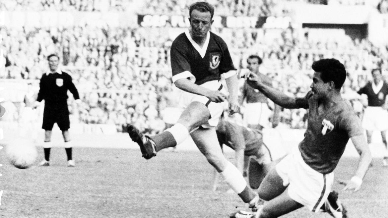 Ivor Allchurch sería el goleador galés en el mundial