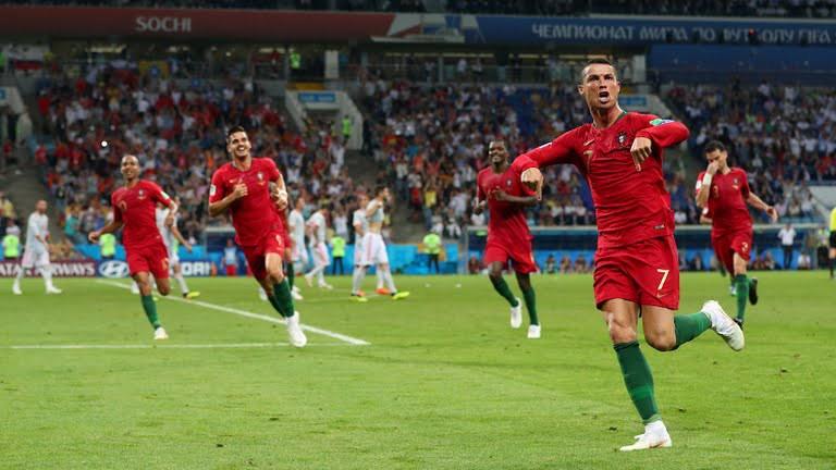 CR7 vs España