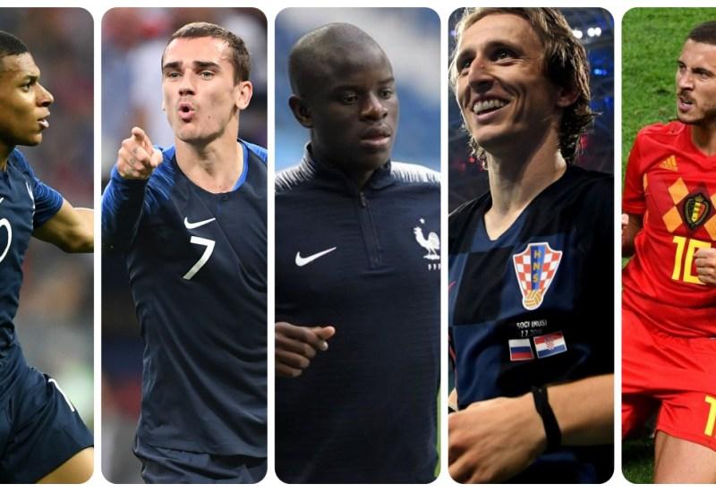 Las cinco figuras de Rusia 2018