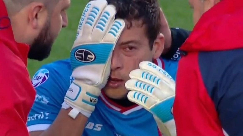 Joaquín Papaleo y su lesión