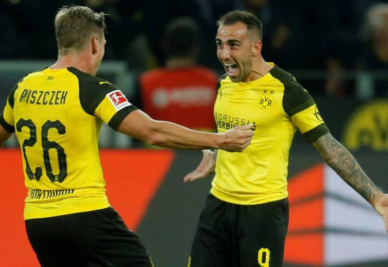 Paco Alcácer y el Borussia Dortmund