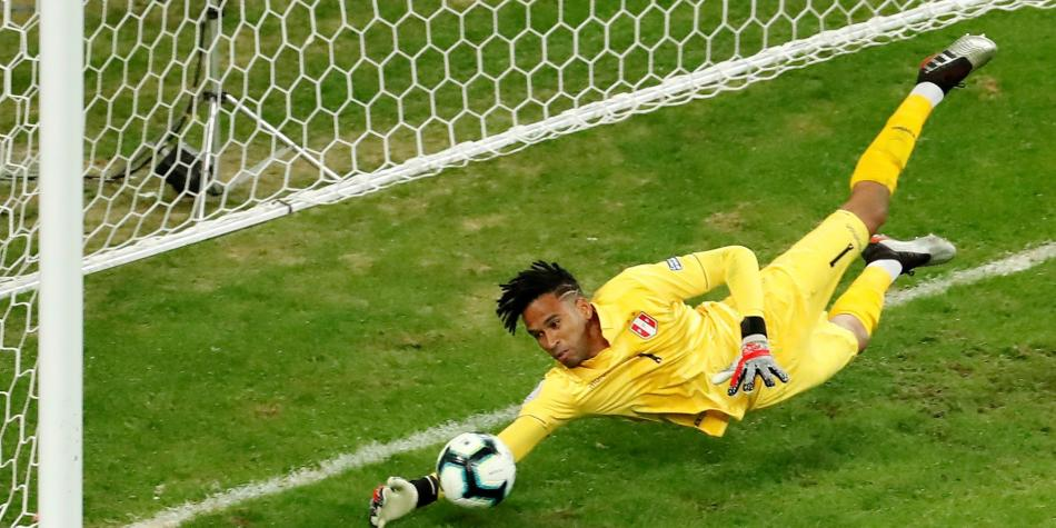 Ante Chile, Gallese se consagró como figura