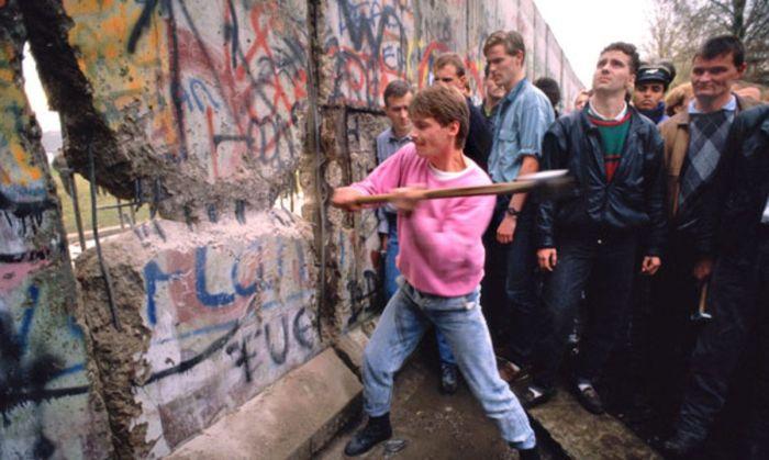El Muro cayó el 9 de noviembre de 1989