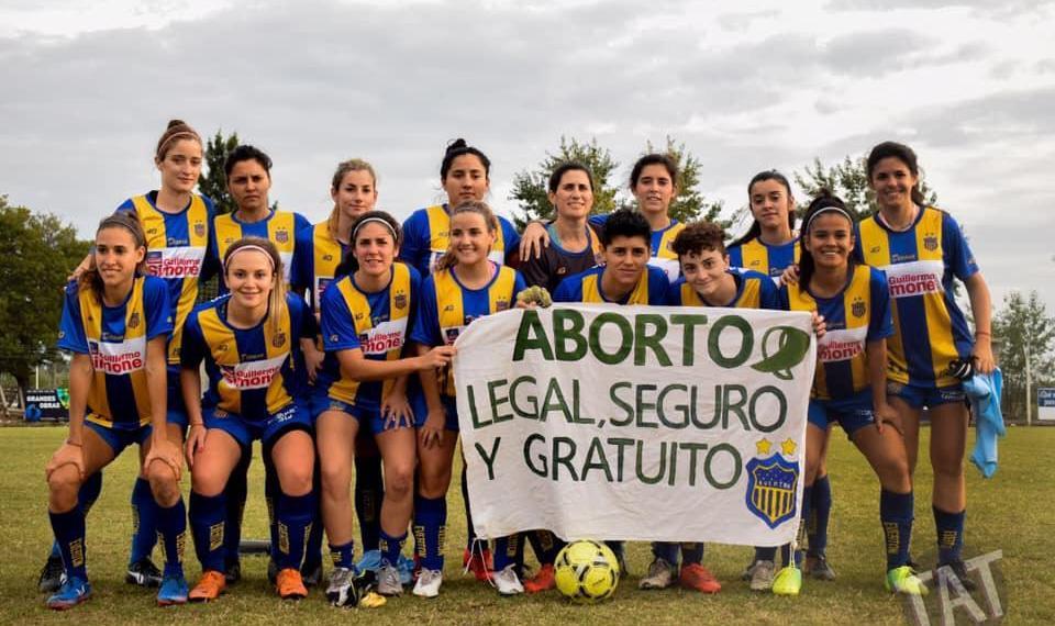 La lucha del fútbol femenino.