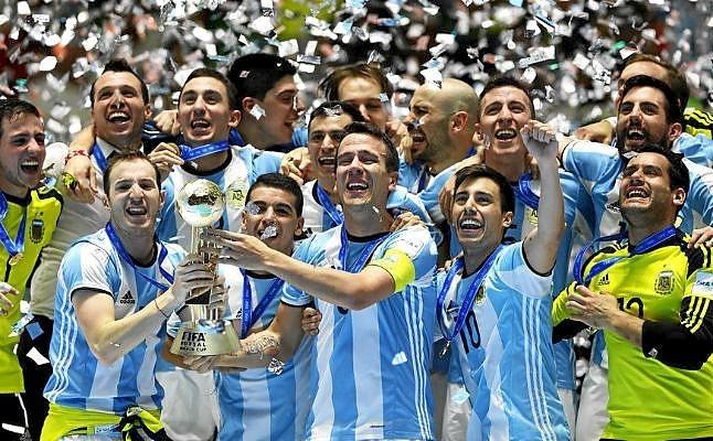 El Mundial, un hito en el futsal argentino.
