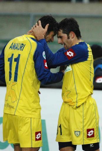 Una gran dupla: Amauri-Pellissier.