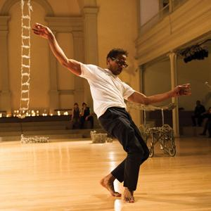 Ralph Lemon at Danspace Project (Photo: Ian Douglas)