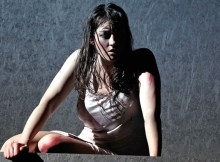 """Constanze Becker in Thalheimer's """"Medea"""""""