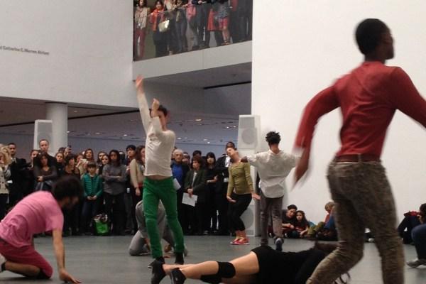 Musée de la Danse's Levée des conflits extended/Suspension of Conflicts Extended (Photo by Megan Karande)