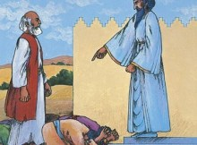 Mordecai not bowing to Haman: Haman was one of the king's leaders. He hated the Jews. Haman made the people bow down to him. Mordecai would not bow down. Haman was angry. https://www.lds.org/manual/old-testament-stories/chapter-45-esther?lang=eng