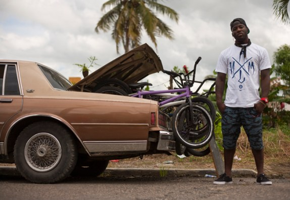 Nigel Sylvester bike check