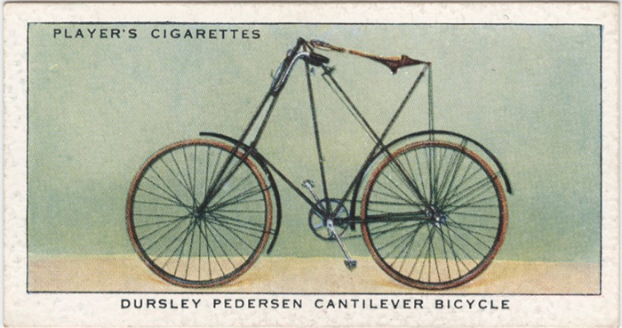 john player bicycle card