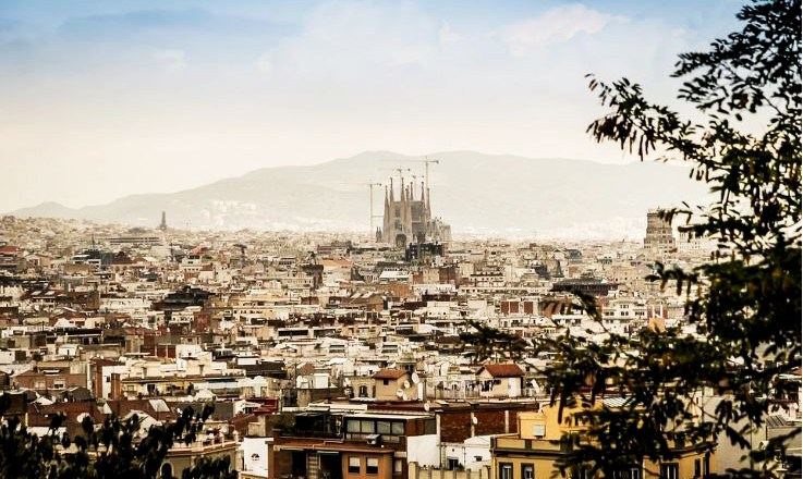 Photo: Panorama of Barcelona by Michal Jarmoluk