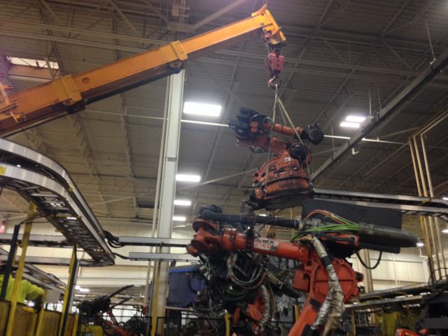 Flex n gate Robot swap out pic