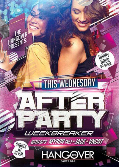 Week Breaker After Party at Hangover Party Bar Curacao