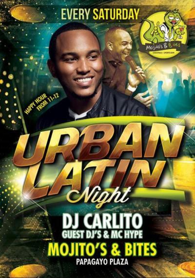 Urban Night at Mojitos and Bites Curacao