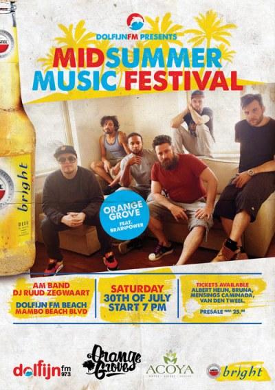 Midsummer Music Festival at Mambo Beach Curacao