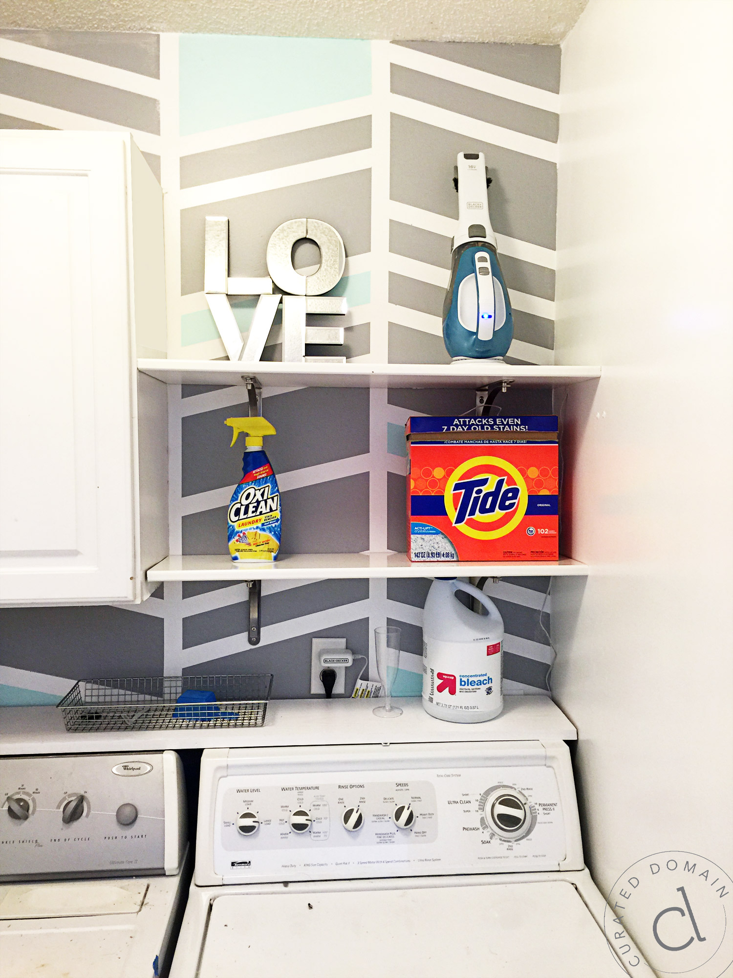 Easy Laundry Room Makeovers Laundry Room Makeover Curated Domain