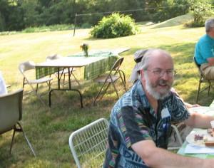 Joel Bartlett, one of PATB's founding members.              Photo: Rebecca Tirrell Talbot