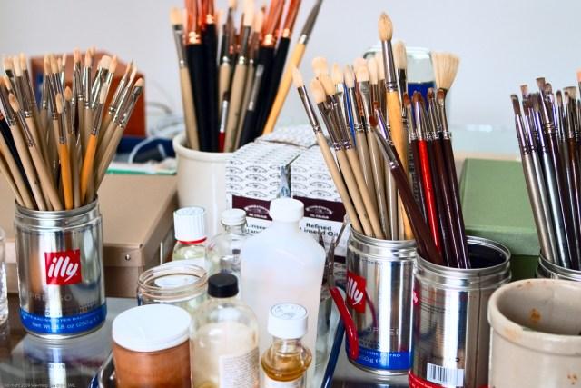 Artist Studio: Ruza Bagaric / DUMBO Arts Center: Art Under the B