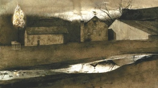 Andrew Wyeth Painted Me Home