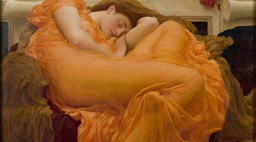 <i>Flaming June</i> at the Frick Collection