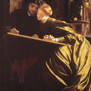 Frederic Leighton, The Painter's Honeymoon,1853–5, Oil on canvas, The National Gallery, London