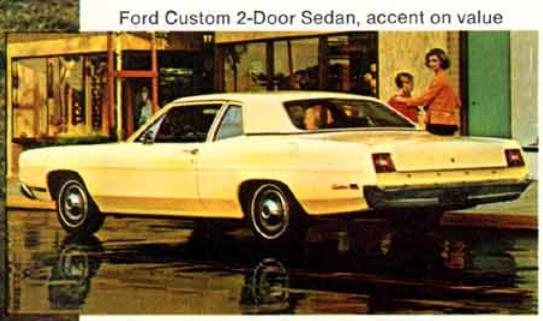 Ford 1969 Custom 2 door