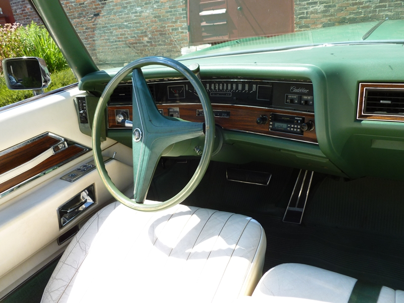 Curbside classic 1972 cadillac fleetwood eldorado convertible the end of an exceptional era for 1972 cadillac eldorado interior